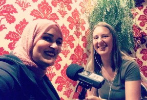 Malak Bouod, Bairbre Flood, Irish podcast, refugees in Ireland. Short Talks,